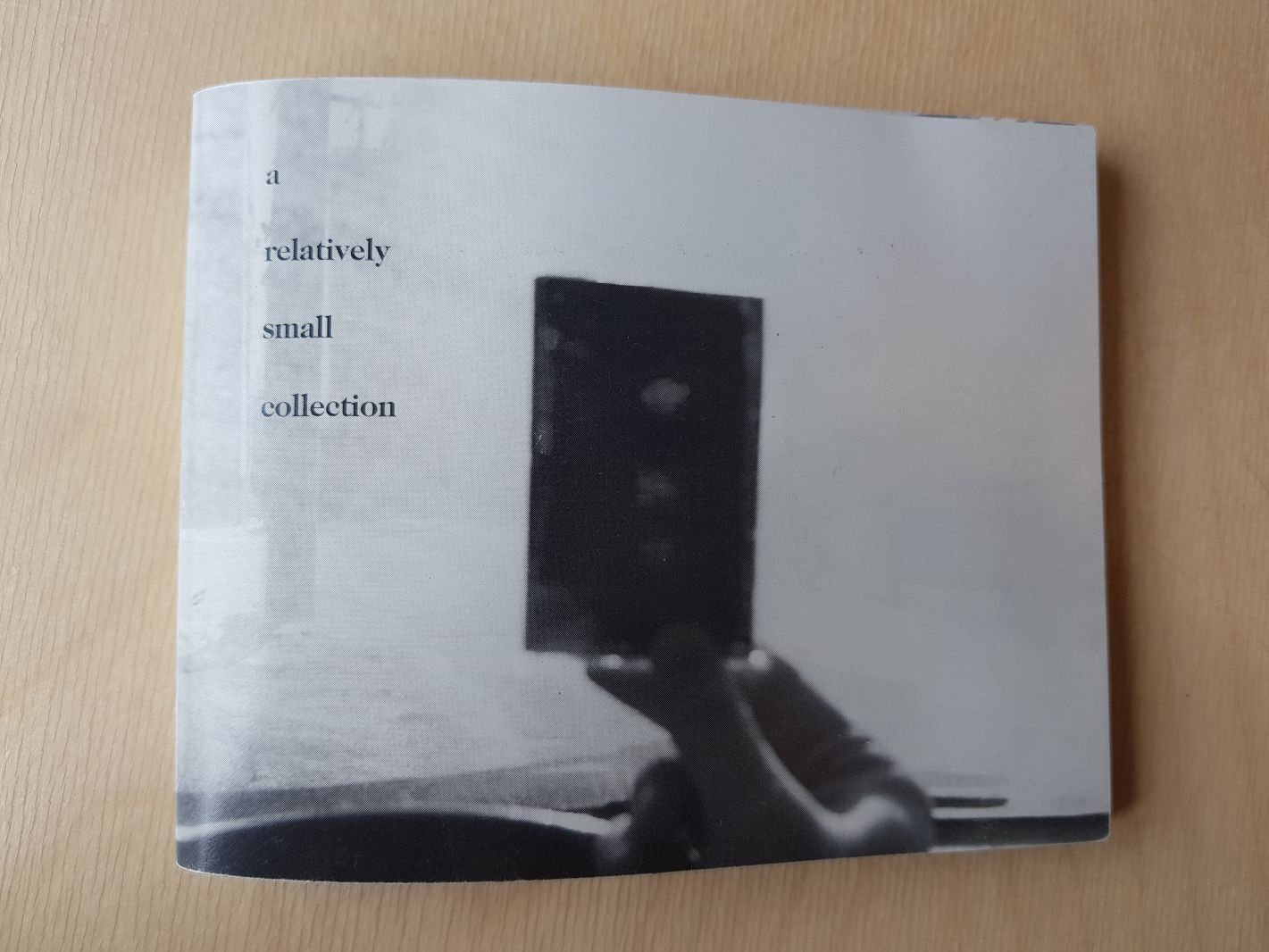 A Relatively Small Collection booklet (front cover)